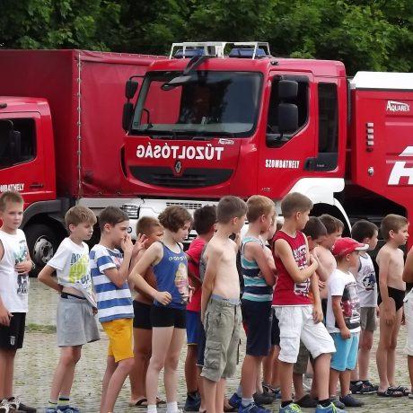 Angol és Tűzoltó tábor 2015